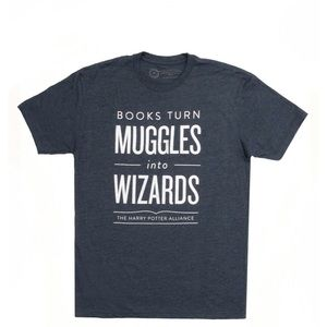 Harry Potter - Books turn Muggles into Wizards